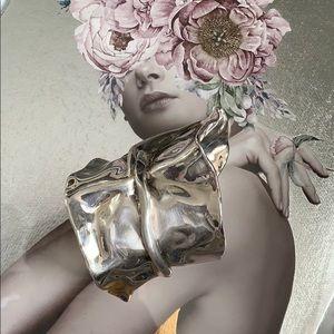 🔥🔥Antique silver chunky women's bracelet 🔥🔥